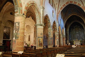 San Francesco, Lodi - View of the interior.