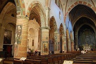 San Francesco, Lodi - View of the interior.