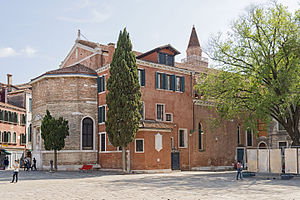 San Polo (church) - Image: Chiesa di San Polo (Venice) abside