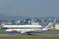 China Airlines A330(Sweet) take off from Fukuoka Airport RWY 16.jpg