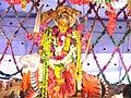 Chinalingala Dussera 2007 Sri Durga devi Alamkaram.jpg