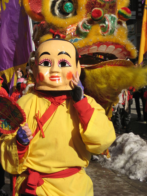 Chinese New Year festival in Chinatown, Boston. (1 February 2009)