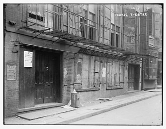 Doyers Street - The city's first Chinese theater was on Doyers Street