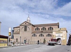 Chioggia Cathedral - Image: Chioggia BW 7