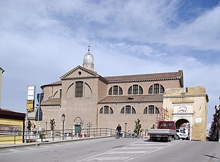 Chioggia Cathedral Church in Italy