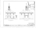 Chowan County Courthouse, East King Street, Edenton, Chowan County, NC HABS NC,21-EDET,2- (sheet 4 of 4).png