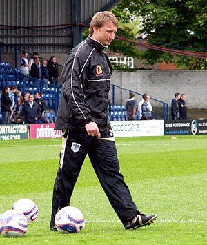 Chris Brass - Brass as Bury assistant manager in 2009