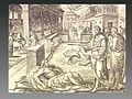 Christ cures the paralytic at the therapeutic pool of Bethes Wellcome V0034870.jpg