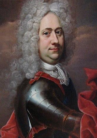 Ulrik Christian Gyldenløve, Count of Samsø - Ulrik Christian Gyldenløve, son of Christian V. The Portrait Collection at Frederiksborg Palace.