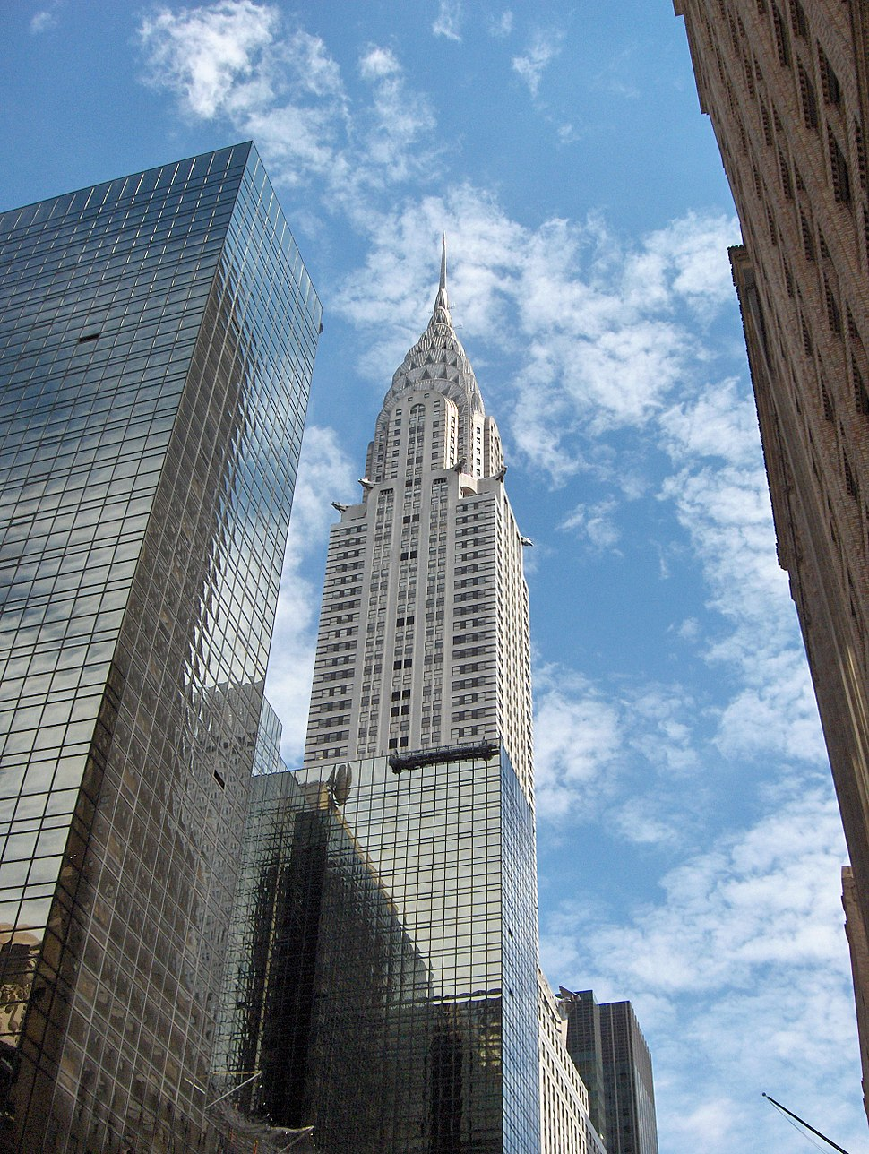 The Chrysler Building was the tallest building in the city and the world from 1930–1931.