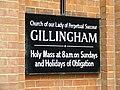 Church Sign - geograph.org.uk - 1465631.jpg