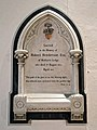 Church of St Andrew, Nuthurst; Robert Henderson of Nuthurst Lodge memorial.jpg