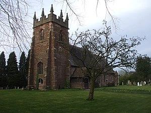 Adbaston - Image: Church of St Michael and All Angels, Adbaston geograph.org.uk 1804019
