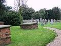 Churchyard at St Mary's Church, Brandesburton - geograph.org.uk - 591226.jpg