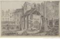 Cimetière des Innocents vers la rue de la Lingerie en 1786.png