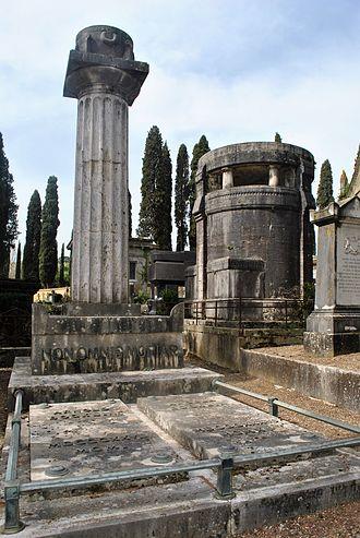 Arnold Böcklin - Cimitero degli Allori, Arnold Bocklin