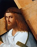 Circle of Giovanni Bellini - Christ carrying the cross.jpg