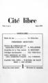 Cité libre Page Couverture juin 1950.png