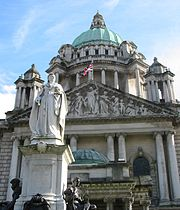 City Hall Belfast Queen Victoria