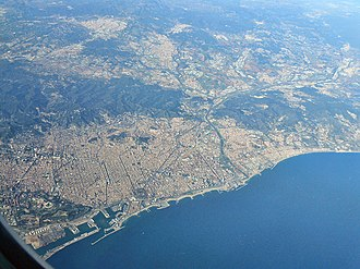 Province of Barcelona - Image: City of Barcelona, Spain (8261231175)