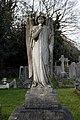 City of London Cemetery and Crematorium Frederick Hempelman 1946 angel monument 1.jpg