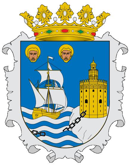 City of Santander, Spain Coat of arms (Oficial version)