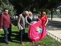 Ciudad Lineal rinde homenaje a Pablo Ráez, impulsor de una campaña para la donación de médula ósea 02.jpg