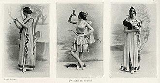 Cléo de Mérode - Image: Cléo de Mérode three poses