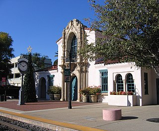 railway station in California, United States