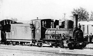 South West African Class Hb - Image: Class Hb tender locomotive