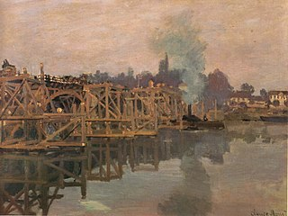 Argenteuil, the Bridge under Repair