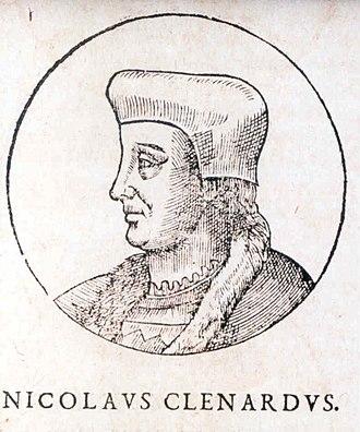 Nicolas Cleynaerts - Nicolaes Cleynaerts.