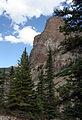 Cliff near Lake Moraine Banff (244840977).jpg