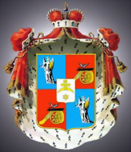 Coat of Arms of Dashkovy family (1798)