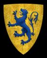 Coat of arms of Richard de Percy, Baron.png