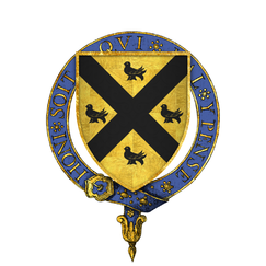Coat of arms of Sir Richard Guildford, KG.png