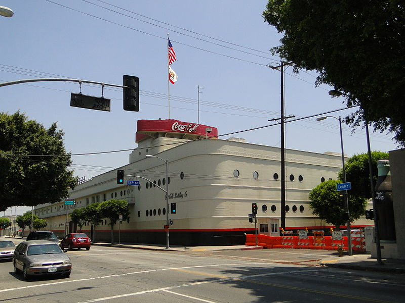 File:Coca Cola Bottling Building, Los Angeles, CA.jpg