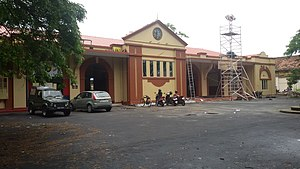 Cochin Harbour Terminus railway station - Cochin Harbour Termius station (CHTS).
