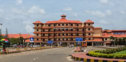 Cochin International Airport is located in Nedumbassery