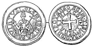 Medieval University of Dublin - Coin of Pope Clement V (r. 1305–14), who in 1311 granted a brief to found a university at Dublin.