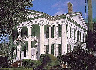 Colonel Green G. Mobley House United States historic place