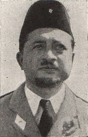 Gatot Soebroto - Subroto in 1950