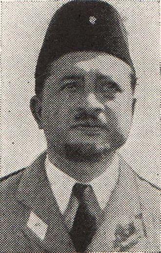 Gatot Soebroto - Soebroto in 1950