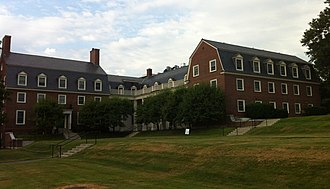 Colby College - Foss Woodman Hall