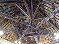 Colmars - Fort de Savoie, charpente de la tour ronde.JPG