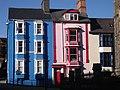 Colourful houses, Aberystwyth. - geograph.org.uk - 1727588.jpg