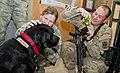 Combat stress dog visits 73rd EACS 111201-F-XH170-006.jpg