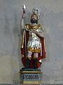 Compains église statue St Gorgon.JPG