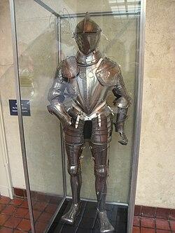 Complete Armor for Combat, North Italian, last quarter of 16th century - Worcester Art Museum - IMG 7707.JPG