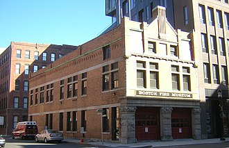 Harrison Henry Atwood - Image: Congress Street Fire Station South Boston MA